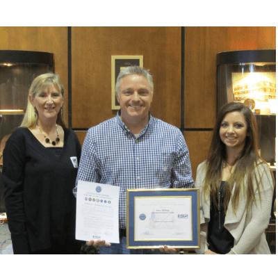 Steve Bishop Patriots Award