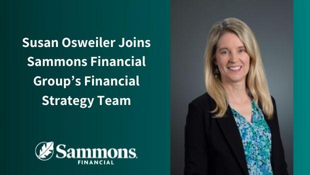 Susan Osweiler press release announcement
