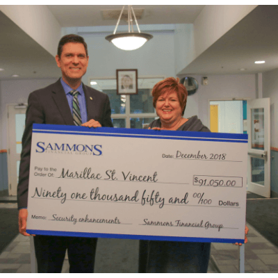 SFG donation to MSV